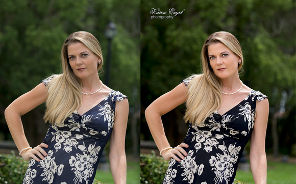 Retouching Before After